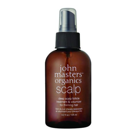 John Masters Organics Haircare Deep Scalp Follicle Treatment & Volumizer 125ml