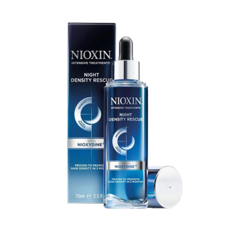 Nioxin Night density rescue 70ml - serum noche anticadia