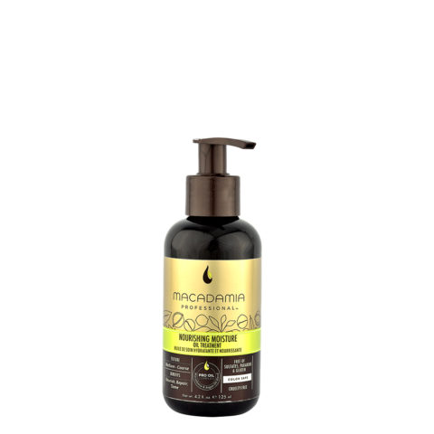 Macadamia Nourishing moisture Oil treatment 125ml - Tratamiento en aceite hidratante y nutritivo