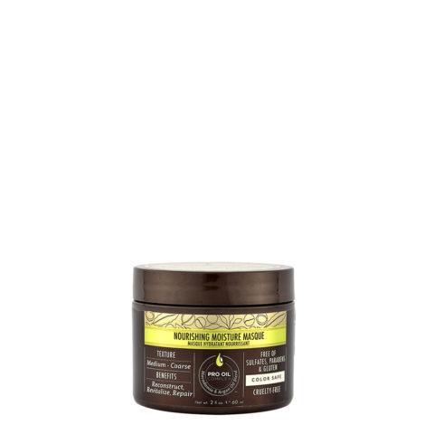 Macadamia Nourishing moisture Mascarilla 60ml - Mascarilla hidratante nutritiva para cabello medio a grueso