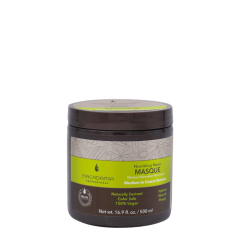 Macadamia Nourishing Repair Masque 500ml - Mascarilla hidratante nutritiva para cabello medio a grueso