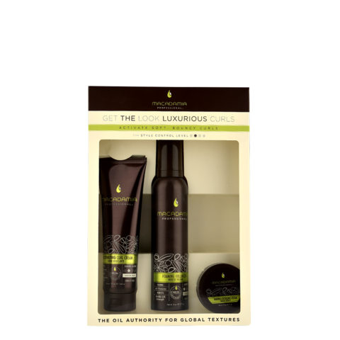 Macadamia Style kit Get the look Luxurious curls