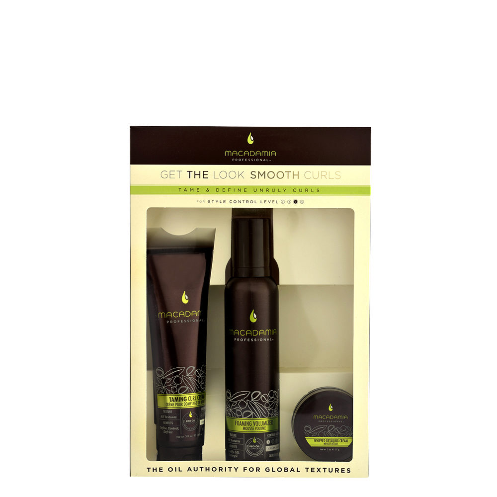 Macadamia Style kit Get the look Smooth curls - 3 productos