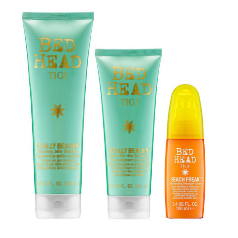 Tigi Bed Head Totally Beachin' Kit Champú 250ml Acondicionador 250ml Beach Freak 100ml