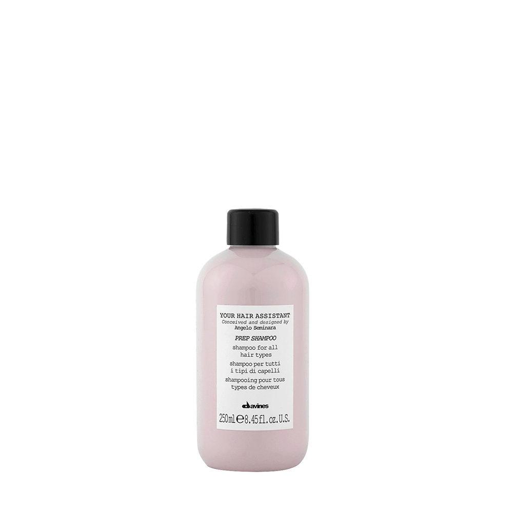 Davines YHA Prep shampoo 250ml - Champú hidratante
