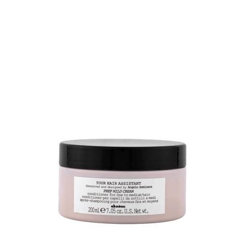 Davines YHA Prep mild cream 200ml - Acondicionador hidratante
