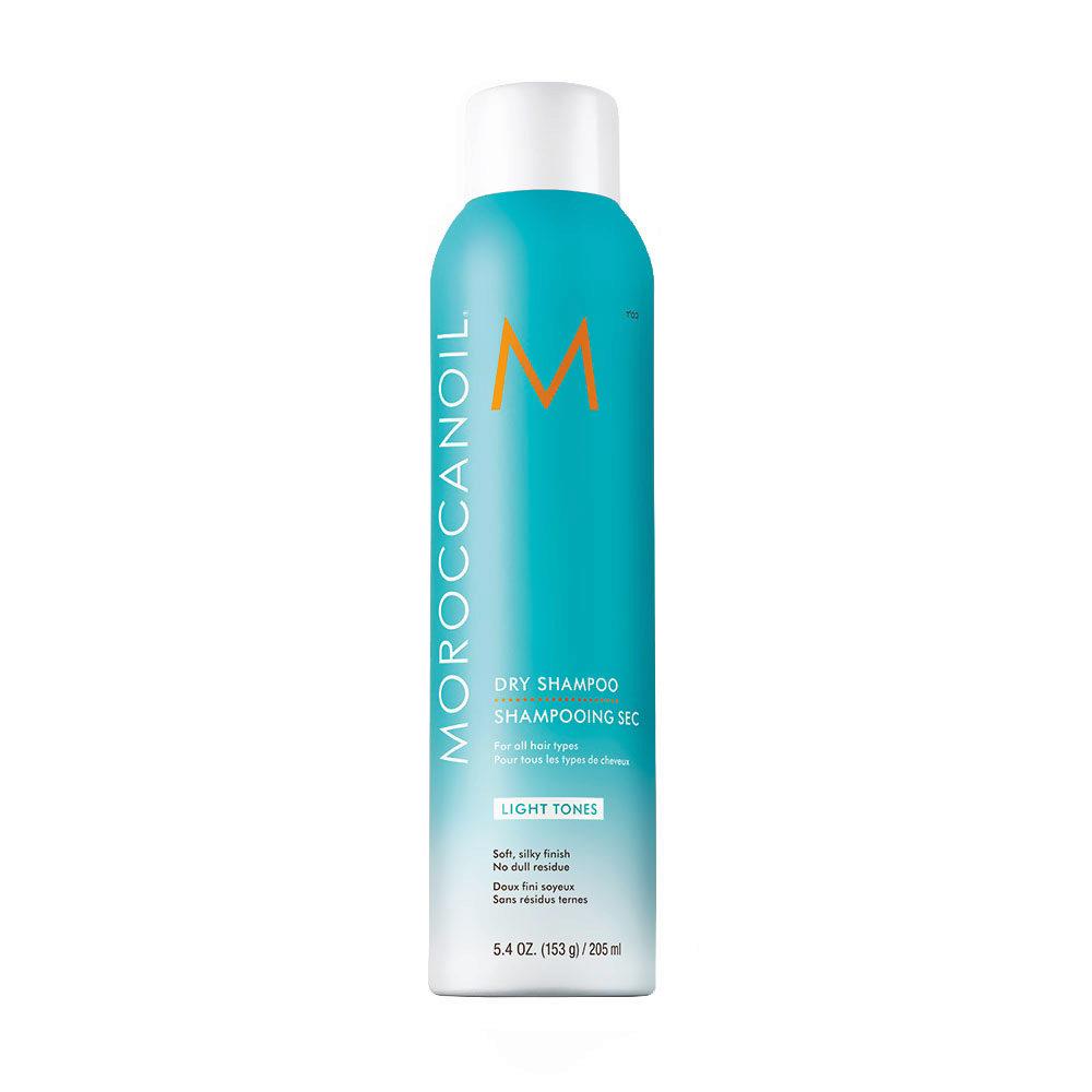 Moroccanoil Dry shampoo Light tones 205ml - Champú en seco para tonos claros