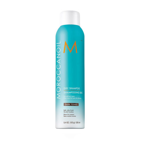 Moroccanoil Dry shampoo Dark tones 205ml - Champú en seco para tonos oscuros
