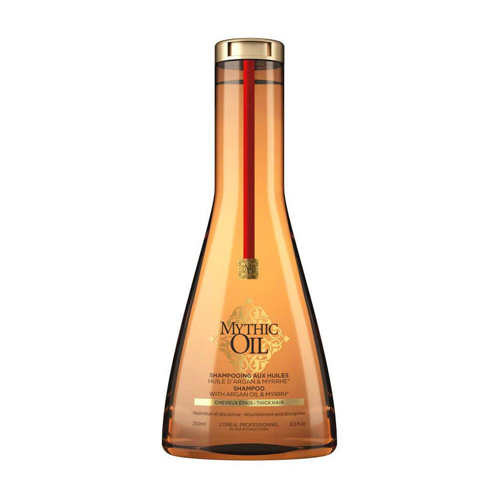 L'Oreal Mythic oil Shampoo Thick hair 250ml - para cabello grueso