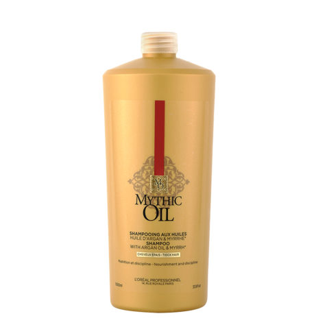 L'Oreal Mythic oil Shampoo Thick hair 1000ml - Para cabello grueso