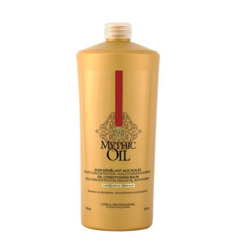 L'Oreal Mythic oil Conditioner Thick hair 1000ml - Acondicionador para cabello grueso