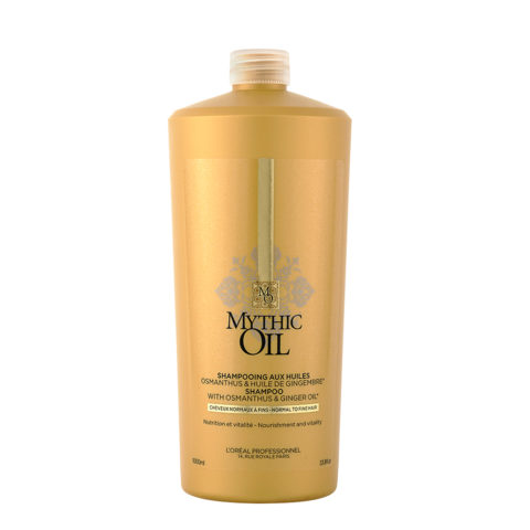 L'Oreal Mythic oil Champú para cabello Normal y fino 1000ml