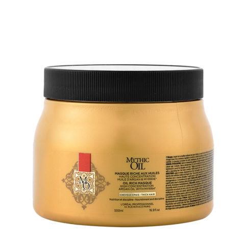L'Oreal Mythic oil Rich masque Cabello grueso 500ml