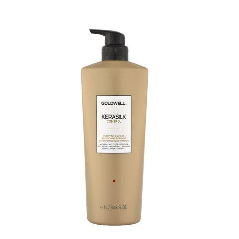 Goldwell Kerasilk Control Purifying shampoo 1000ml - Champú intensivo