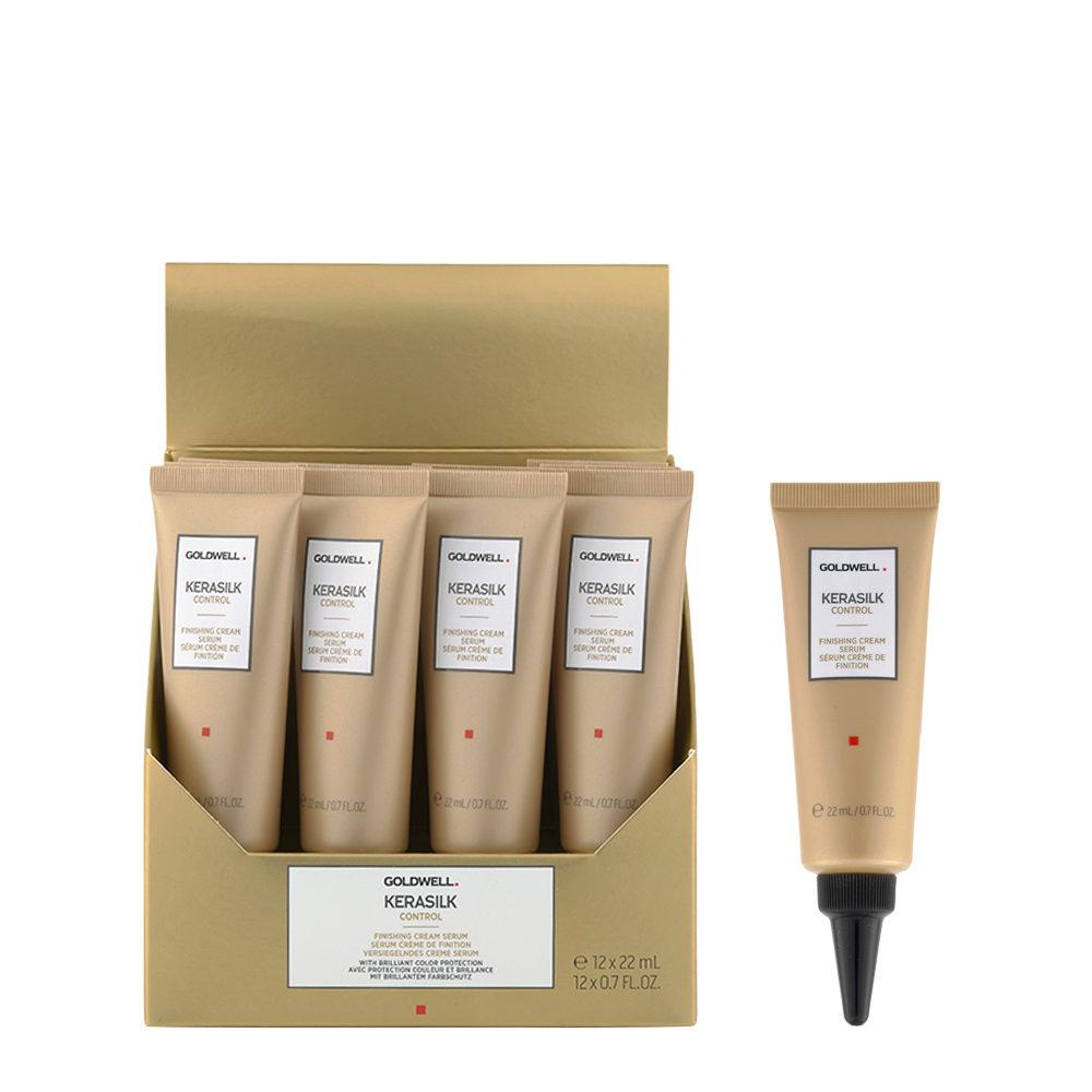 Goldwell Kerasilk Control Finishing cream serum 12x22ml - Suero Anti Encrespamiento