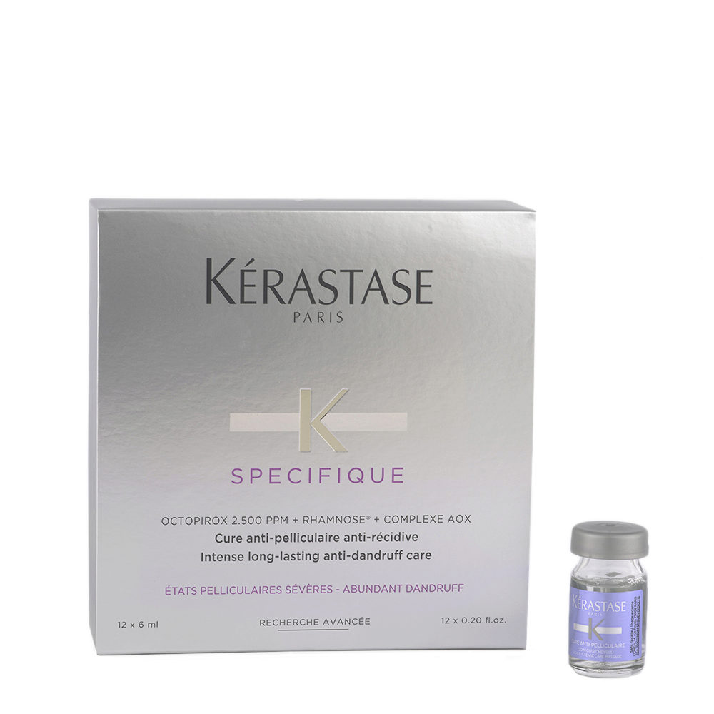 Kerastase Specifique Cure Anti pelliculaire 12x6ml - Ampollas tratamiento Anti-Caspa