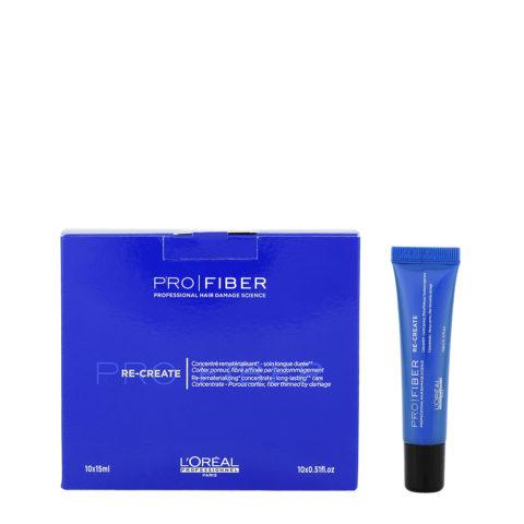 L'Oreal Pro fiber Re-create Concentrate 10x15ml