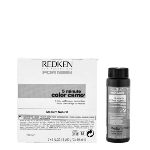 Redken for Men Color Camo Medium Natural 3x60ml