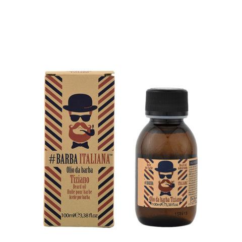 Barba Italiana Olio da barba Tiziano 100ml - Aceite para la barba