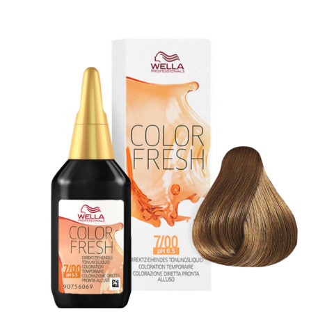7/00 Rubio medio natural Wella Color fresh 75ml