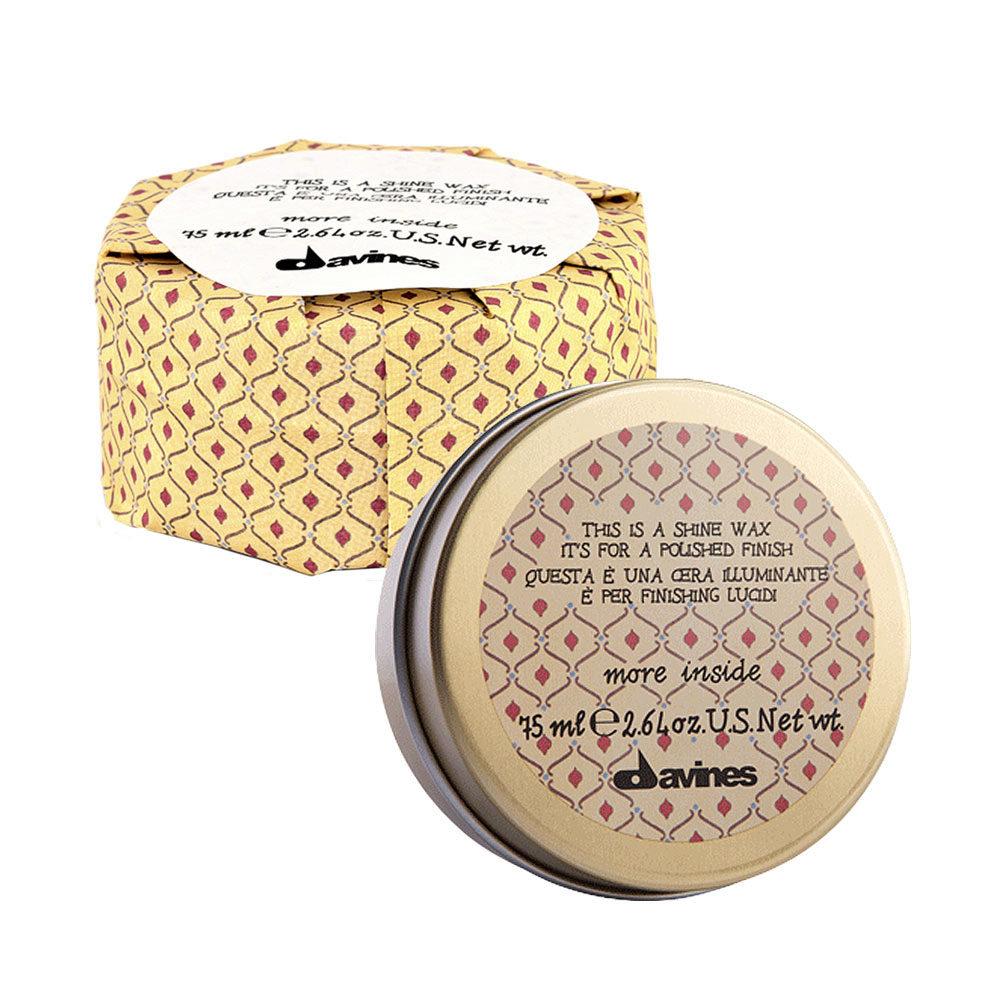 Davines More inside Shine wax 75ml - Cera de brillo