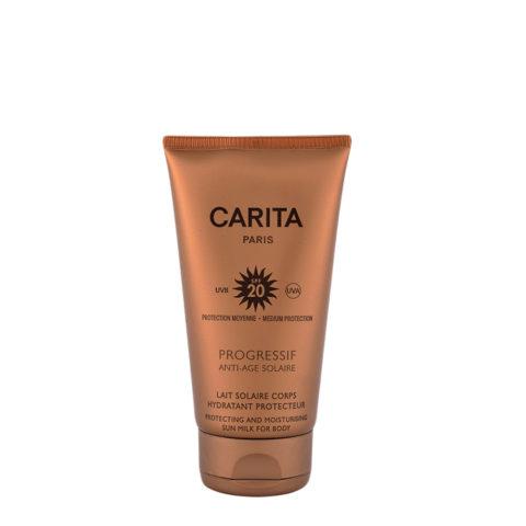 Carita Skincare Lait Corps Hydratant Protecteur SPF 20, 150ml - Leche protectora