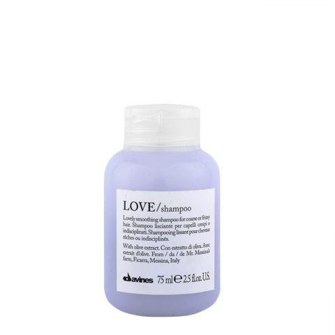 Davines Essential hair care Love smooth Shampoo 75ml - Champú estrenante