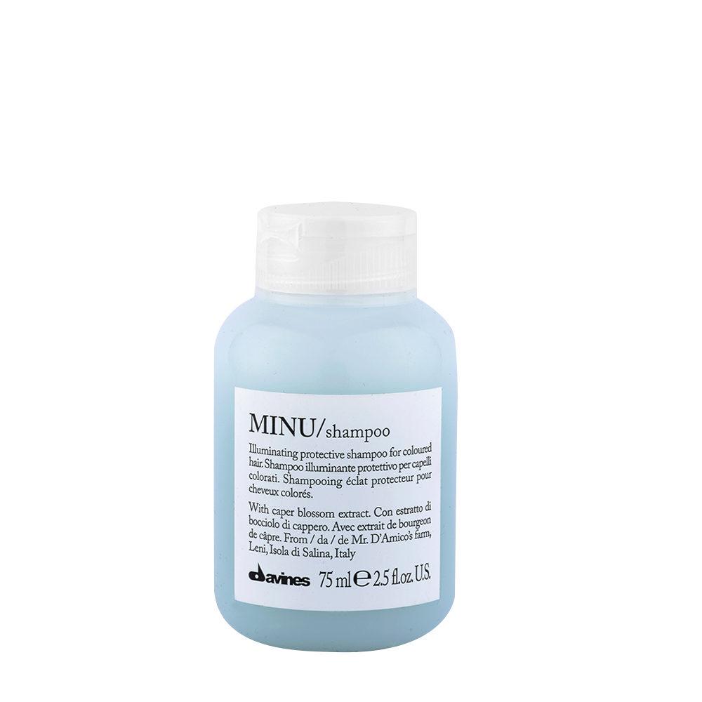 Davines Essential hair care Minu Shampoo 75ml - Champú ilumindaor