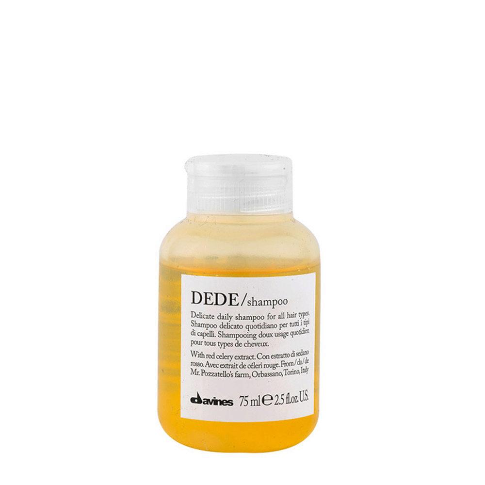 Davines Essential hair care Dede Shampoo 75ml - Champú suave diario