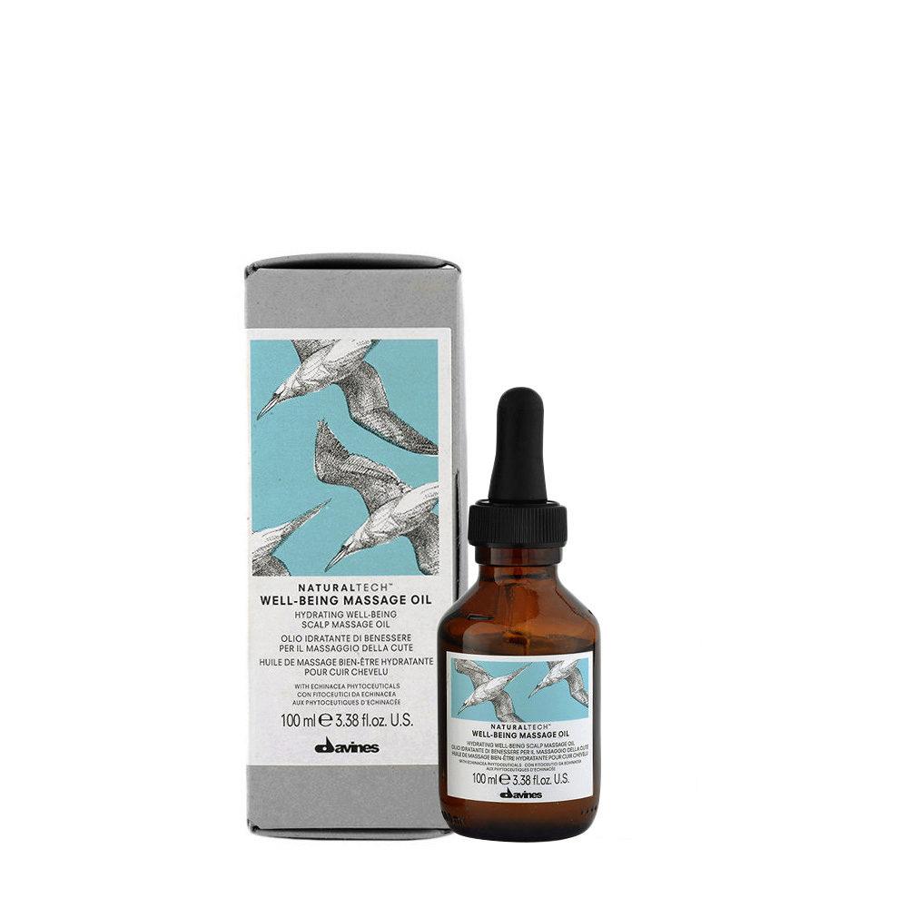 Davines Naturaltech Wellbeing Massage Oil 100ml - Aceite para masaje capilar