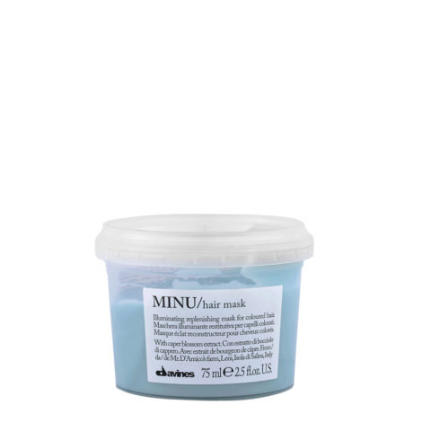 Davines Essential hair care Minu Hair mask 75ml - Mascarilla iluminadora