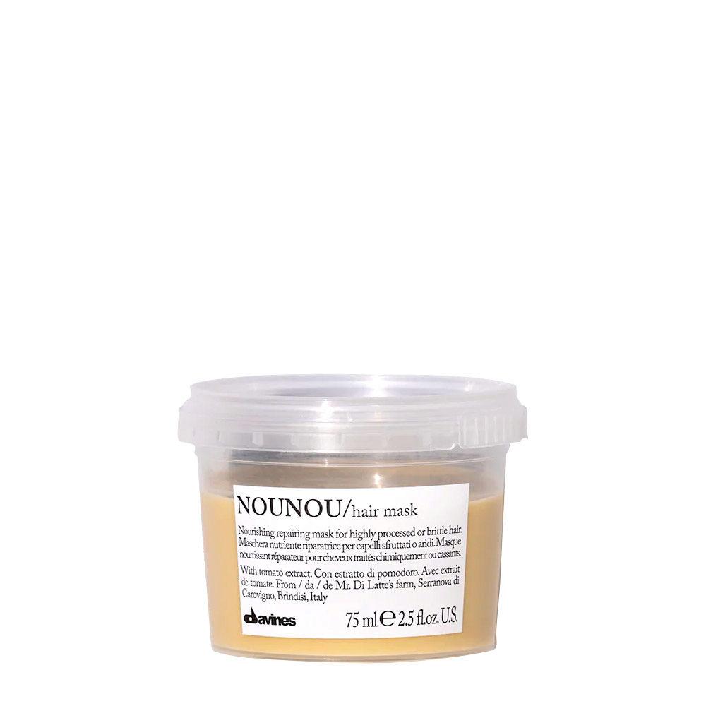 Davines Essential hair care Nounou hair mask 75ml - Mascarilla Nutritiva