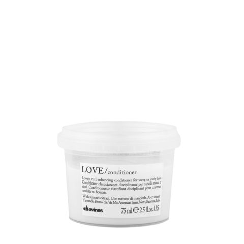Davines Essential hair care Love curl Conditioner 75ml - Acondicionador disciplinante