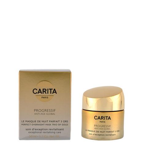 Carita Skincare Progressif Anti-age global La Masque de nuit parfait 3 ors 50ml