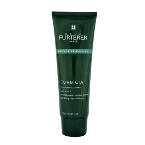 René Furterer Curbicia Purifying Clay Shampoo 250ml - champú-mascarilla pureza