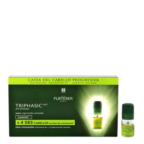 René Furterer Triphasic Vht Regenerating treatment for hair loss 8x5,5ml