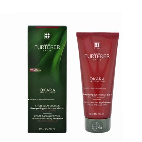 René Furterer Okara Radiance Enhancing Shampoo 200ml - champù para pelo teñido