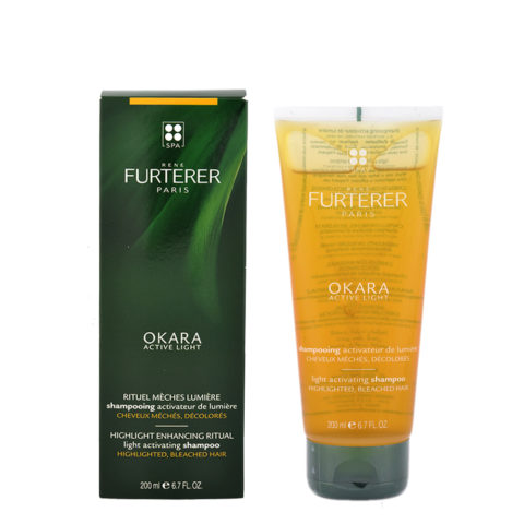 René Furterer Okara Light Activating Shampoo 200ml - champù activadora de luminosidad