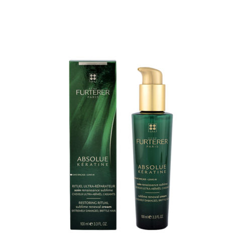 René Furterer Absolue Kératine Sublime Renewal Cream 100ml - tratamiento reparador diario