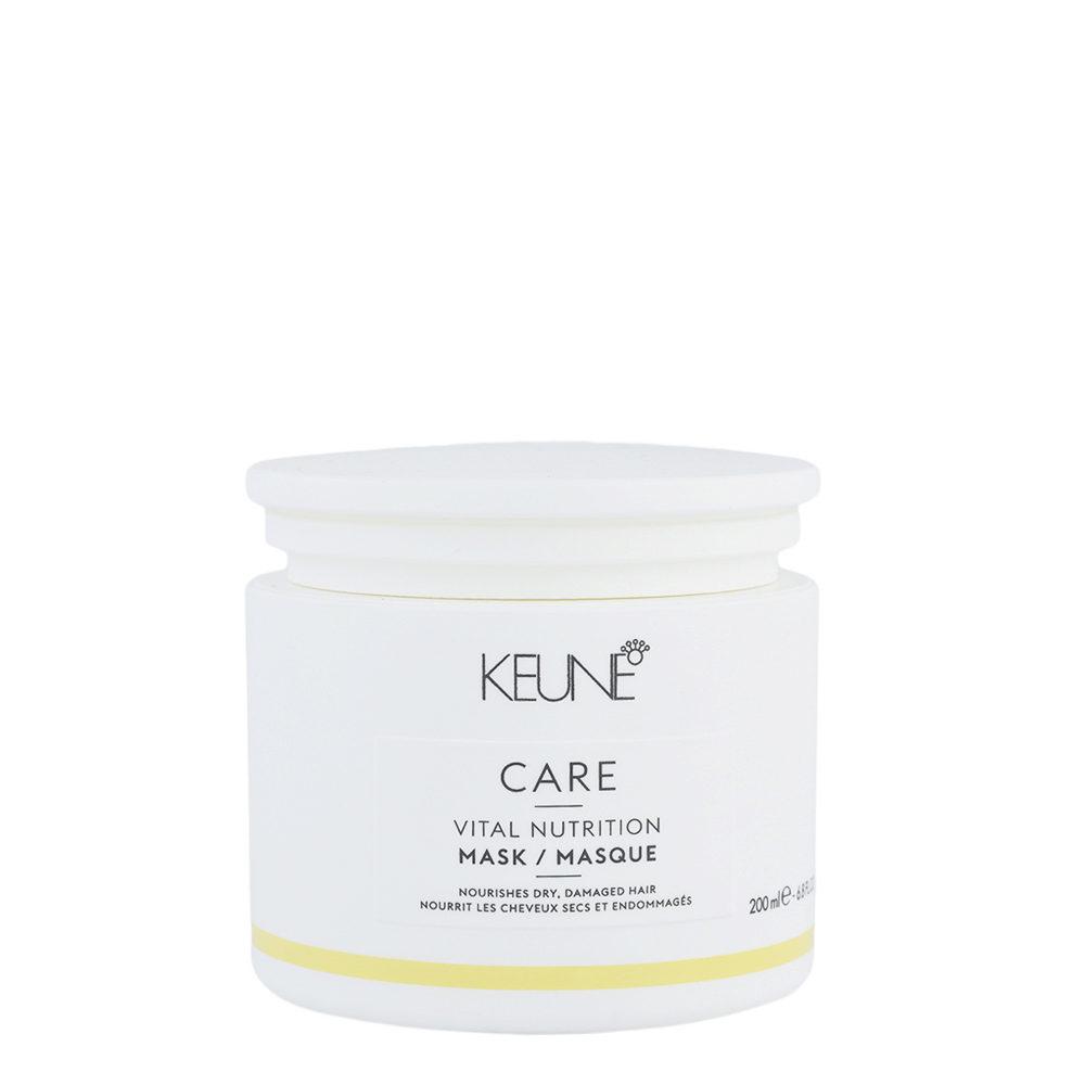 Keune Care Line Vital Nutrition Mask 200ml - mascara de nutrición