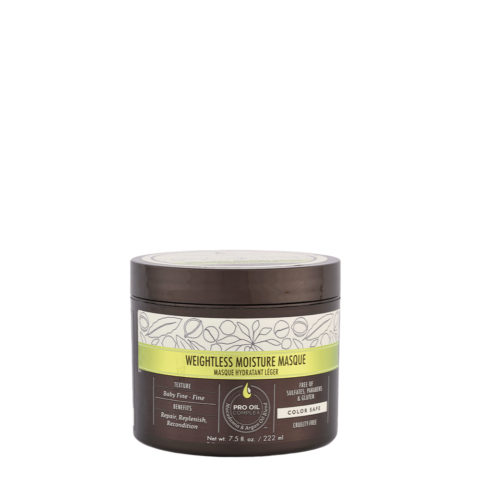 Macadamia Weightless moisture Masque 222ml - mascarilla hidratante ligera