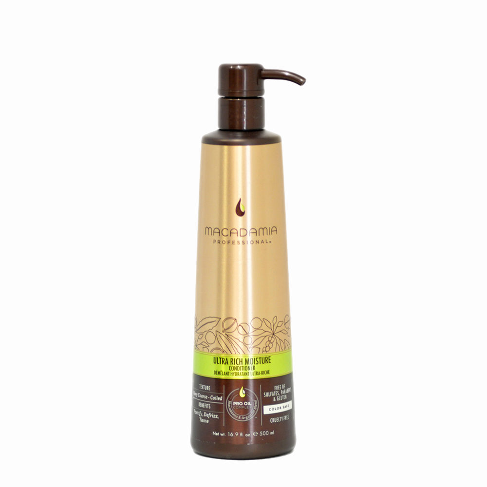 Macadamia Ultra-rich moisture Conditioner 500ml - acondicionador