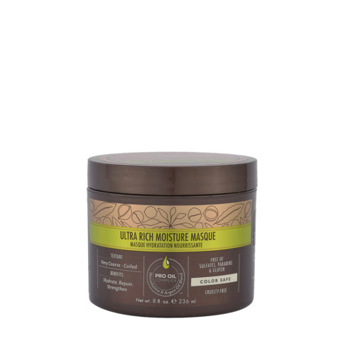 Macadamia Ultra-rich moisture Masque 236ml