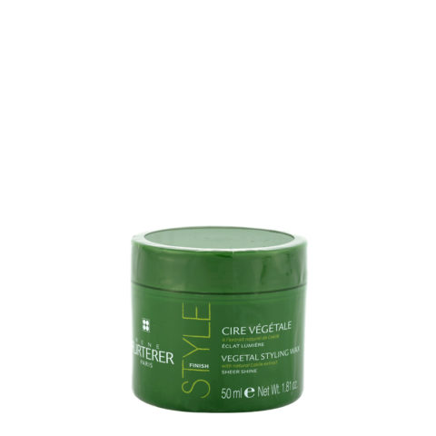 René Furterer Styling Vegetal styling wax sheer shine 50ml - cera de peinado iluminante
