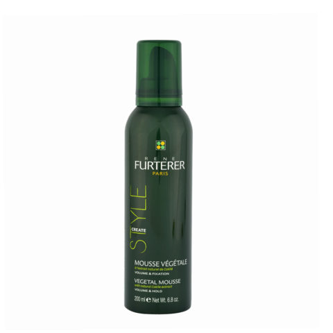 René Furterer Styling Vegetal mousse volume and hold 200ml - espuma vegetal de volumen y fijación