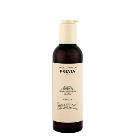 Previa Smoothing Organic Linseed Oil Taming leave in Gloss 200ml