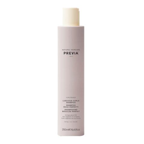 Previa Curlfriends Organic Borage Glycerides Luscious Curls Shampoo 250ml