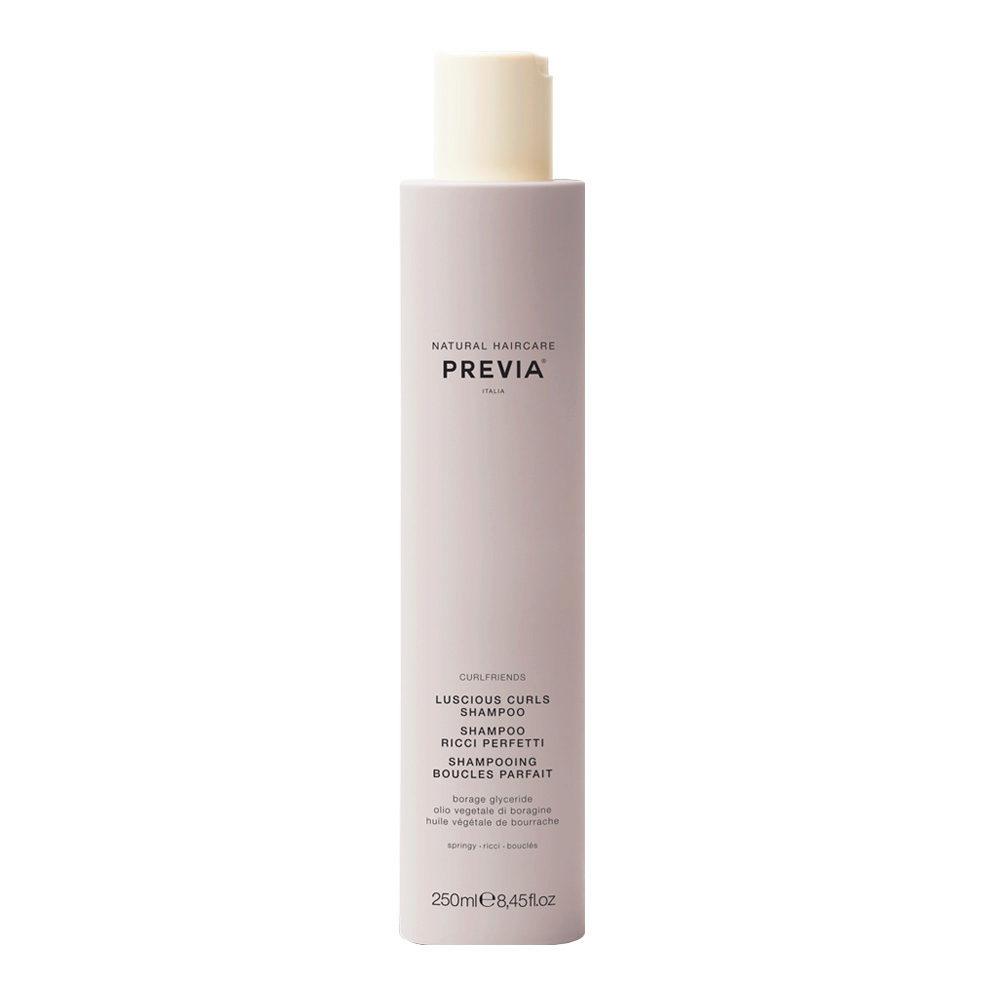 Previa Curlfriends Luscious Curls Shampoo 250ml - champù rizos