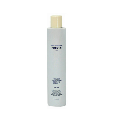 Previa Volumizing Organic Tilia Blossom Bodifying Shampoo 250ml - champù voluminizador
