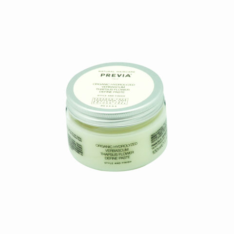 Previa Finish Organic Hydrolized Verbascum Thapsus Flower Define Paste 100ml